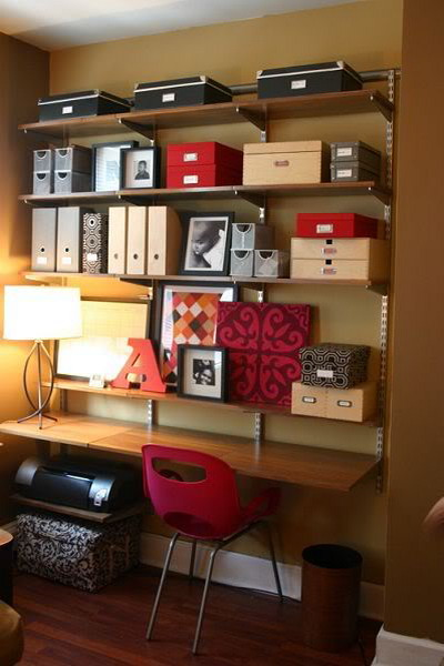 51 Cool Storage Idea For A Home fice Shelterness