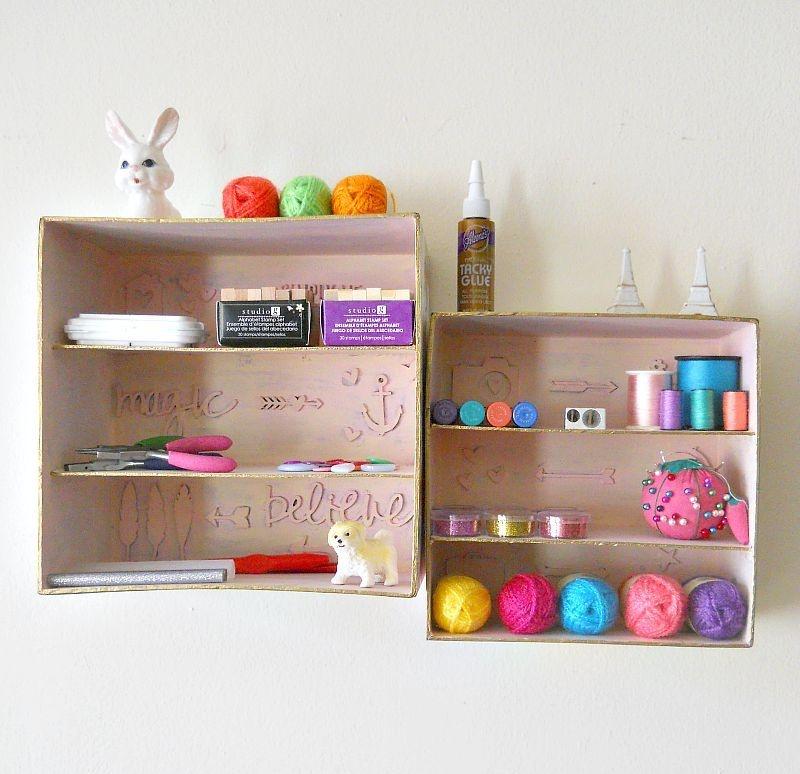 Simple And Budget-Savvy DIY Shadow Box Storage