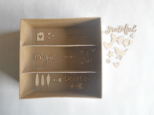 Simple And Budget Savvy DIY Shadow Box Storage