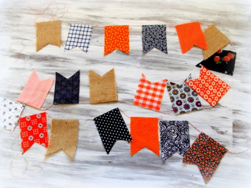 no sew bunting (via https:)