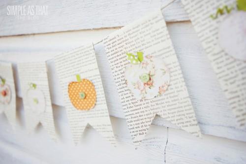 pumpkin bunting (via simpleasthatblog)