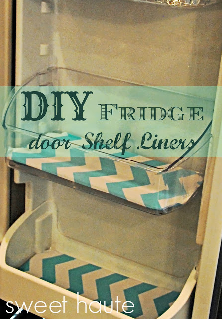 fridge shelf liners (via sweethaute)