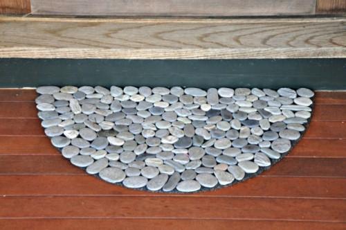 rock doormat (via shelterness)