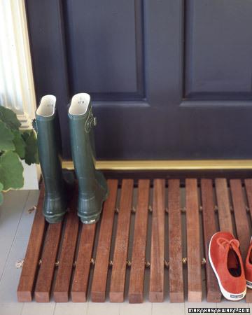 10 Simple And Cute Diy Entryway Doormats Shelterness