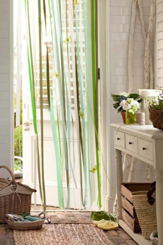 Simple And Quick Diy Ribbon Curtain
