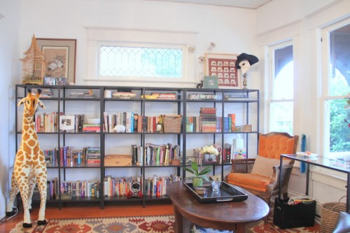 large shelving unit hack (via eakahouse)