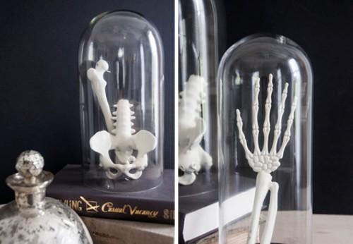 Simple And Spooky Diy Bones For Halloween Decor