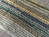 knit T-shirt into a rug