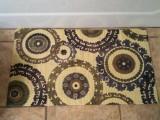patterned bath mat