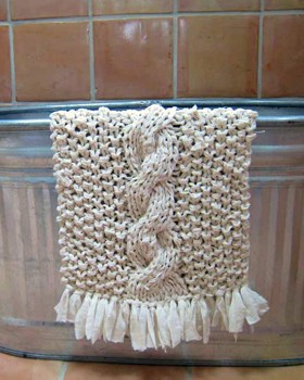 rag bath mat (via store)