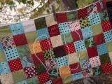 patchwork bath mat
