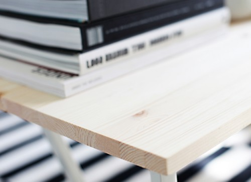 Simple Diy Coffee Table In Scandinavian Style