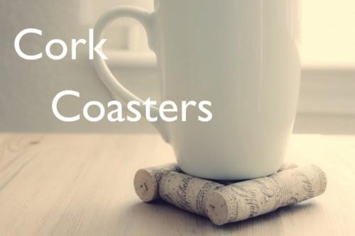 Simple DIY Cork Coasters