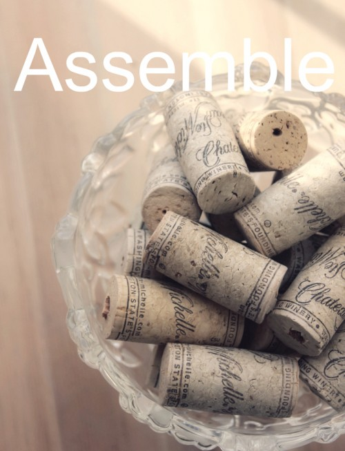 Simple diy cork coasters shelterness for Simple cork