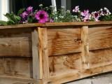 raised flower planter bed