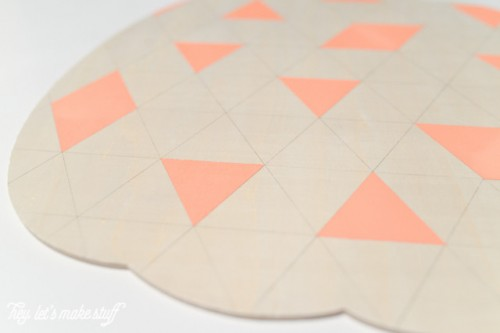 Simple DIY Geometric Wooden Pumpkin