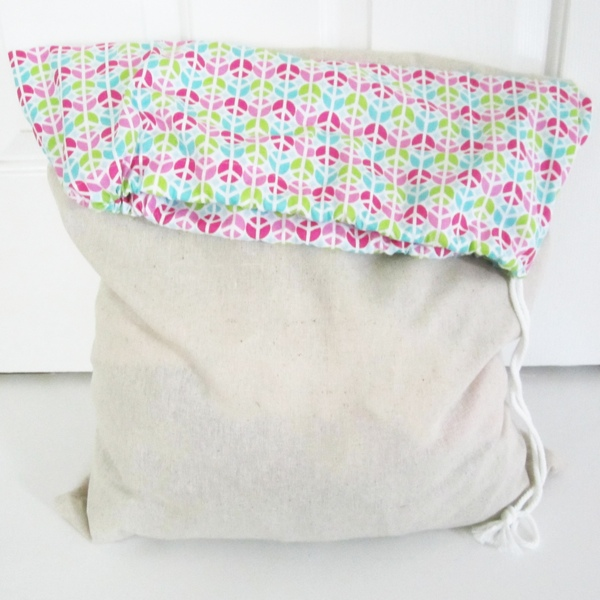 square laundry bag