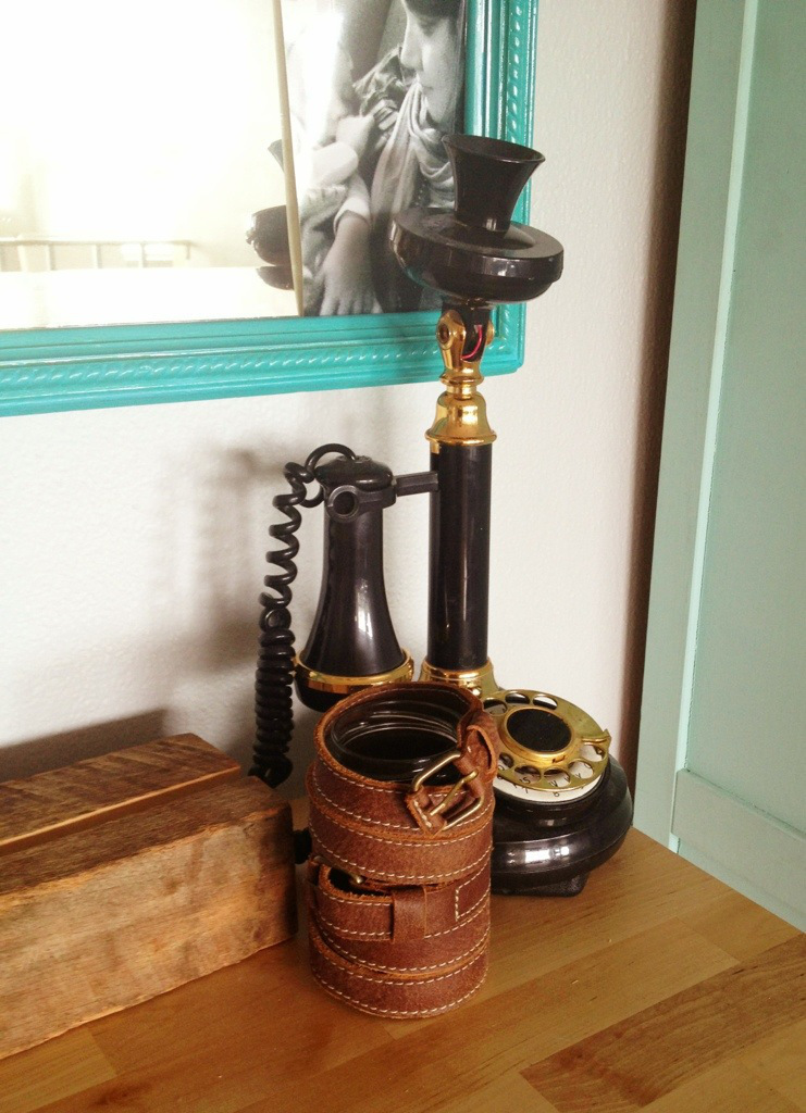 Simple Diy Leather Wrapped Vase