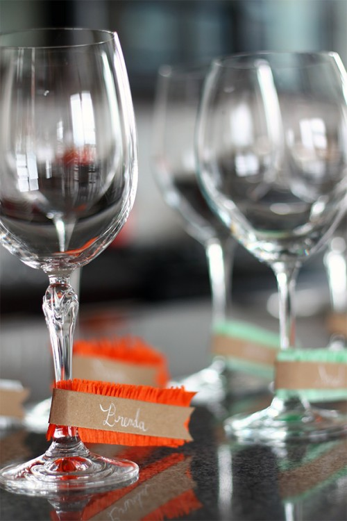 wine glass name tags (via shelterness)