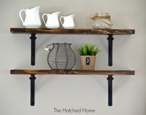 8 Simple DIY Open Shelving Projects For Any Space