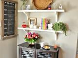 kitchen open shelf
