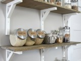 pantry open shelving