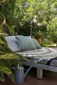 outdoor lounge bed (via ehow)