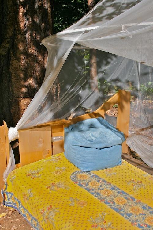 handmade outdoor bed