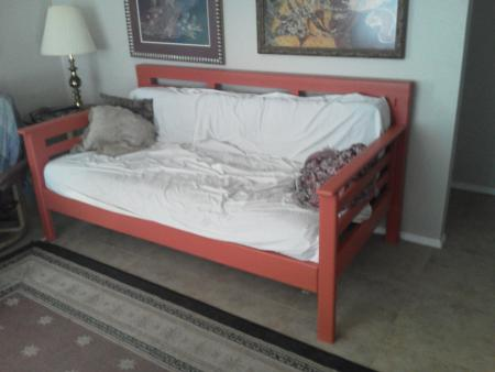 daybed without a canopy (via ana-white)