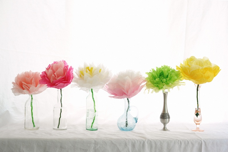 simple diy paper flowers for mother s day shelterness