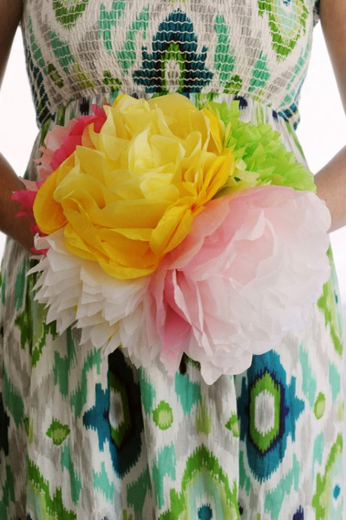 Simple Diy Paper Flowers For Mother's Day