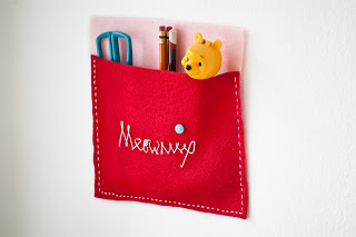 DIY wall pencil holder (via meowmiix)