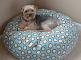 fleece dog bed tutorial