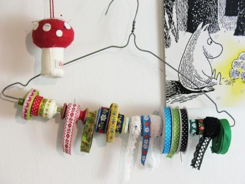 Simple Diy Ribbon Organizer