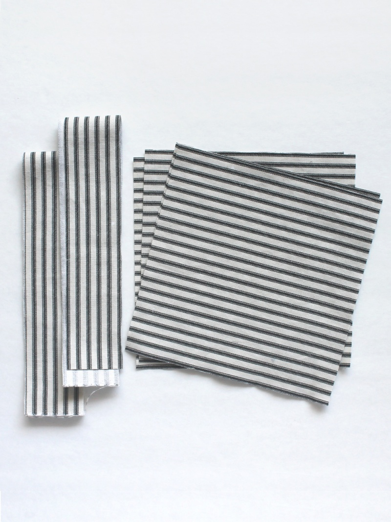 Picture Of simple diy striped picnic blanket  3