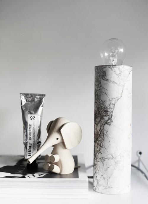 Simple diy table marble lamp 1 500x687