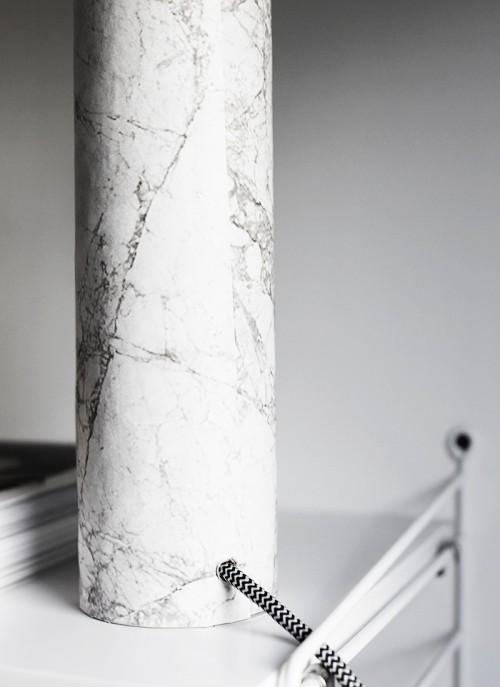 Simple Diy Table Marble Lamp