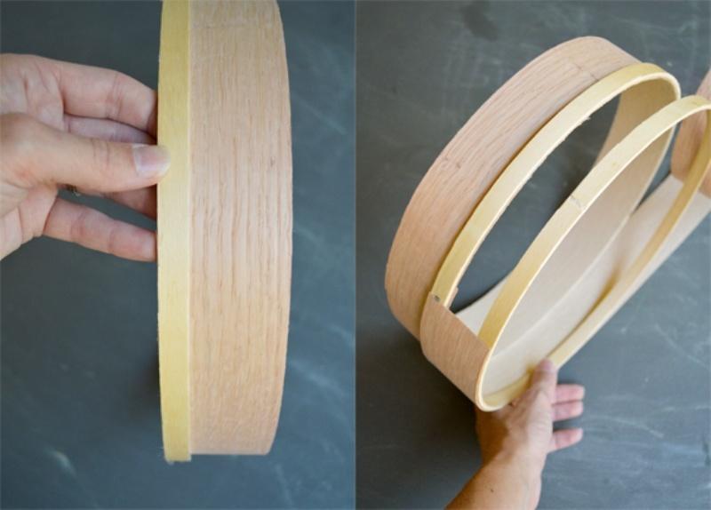Simple Diy Veneer Pendant Lamp