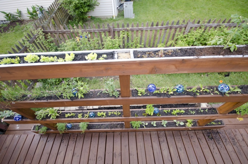 Picture of simple diy vertical garden for Diy vertical garden wall