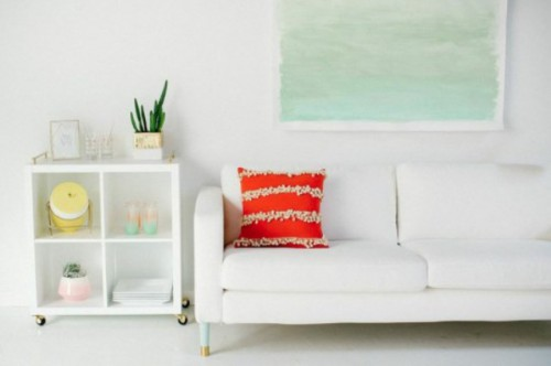 Simple DIY Watercolor Wall Art