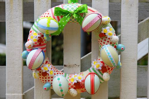 9 Simple DIY Easter Wreaths And Garlands