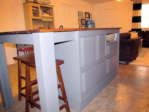 kitchen island from a dresser