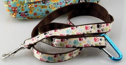 custom pet leash (via totallystitchin)