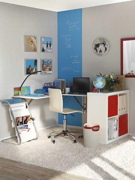 IKEA Kallax is perfect storage for any home office. It could provide an additional working space too.