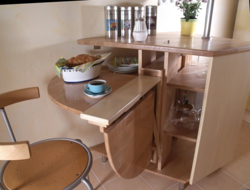 Small Folding Table For A Small Kitchen