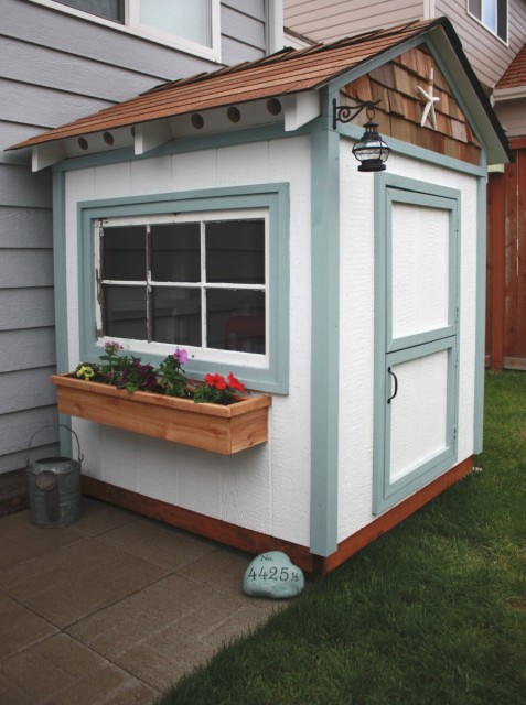 Small House Potting Shed