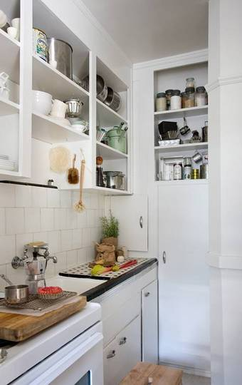 Some spaces are so small that there isn't enough space even for a small kitchen table