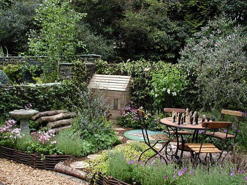 Tiny Urban Backyard Ideas : 50 Small Urban Garden Design Ideas And Pictures Photo 14 Pictures to