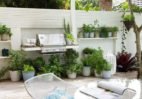 Every Urban Garden Should Feature A Bbq Area