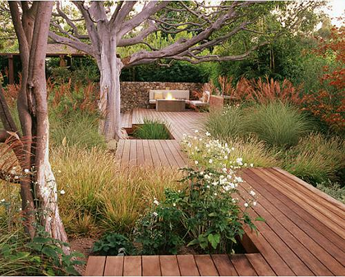 if your backyard is small you can cover it with terrace wood